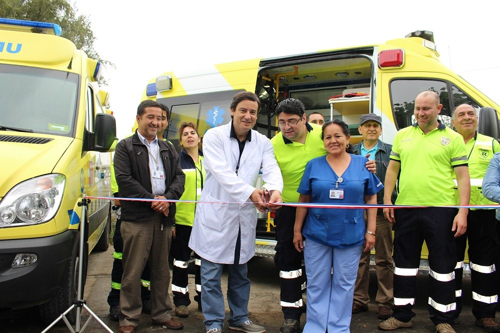Ambulancia todo terreno en Lanco